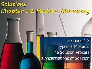 Solutions Chapter 12 Modern Chemistry