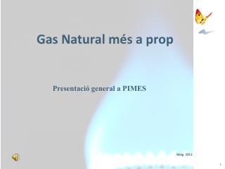 Gas Natural m�s a prop