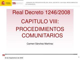 Real Decreto 1246/2008