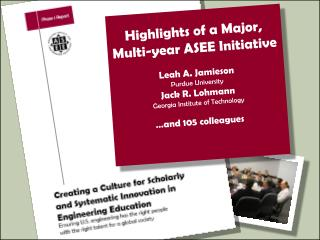 "U.S. engineering education for the 21 st  century ""How could/should ASEE contribute?!'"