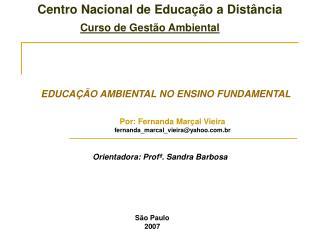 Centro Nacional de Educa  o a Dist ncia