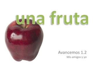 una fruta