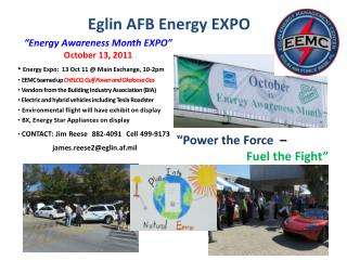 Eglin AFB Energy EXPO