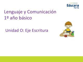 Lenguaje y Comunicación     1º año básico