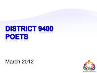 District 9400 POETS