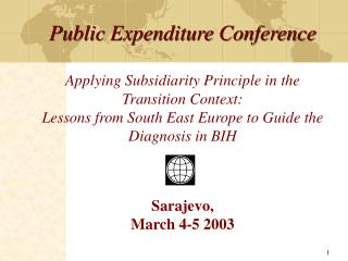 Principle of Subsidiarity