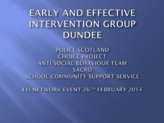 Police Scotland (Dundee Division) Community Safety Unit Donna Drummond