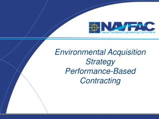 Environmental Acquisition  Strategy  Performance-Based Contracting