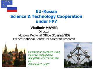 EU-Russia  Science & Technology Cooperation  under FP7