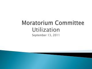 Moratorium Committee