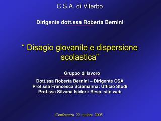 C.S.A. di Viterbo