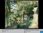 Title:  Climbing Path LHermitage Pontoise Artist:  Camille Pissaro Date:  1875