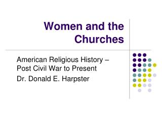 Women and the Churches