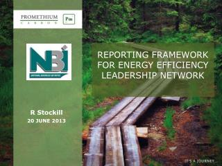REPORTING FRAMEWORK FOR ENERGY EFFICIENCY LEADERSHIP NETWORK