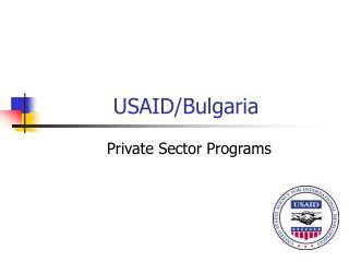USAID/Bulgaria