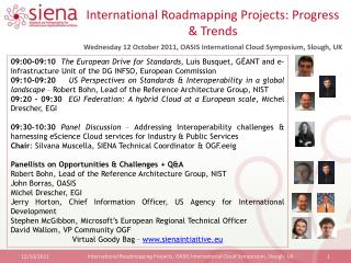 International Roadmapping Projects: Progress & Trends