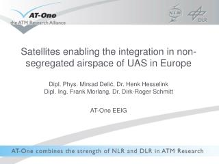 UAS in non-segregated airspace Concept validation through simulation