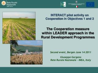 The Cooperation measure within LEADER approach  in the  Rural  Development  Programmes