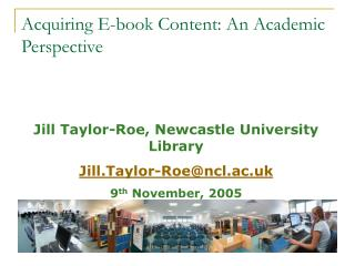 Acquiring E-book Content: An Academic Perspective