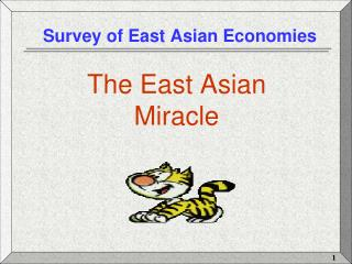 Survey of East Asian Economies