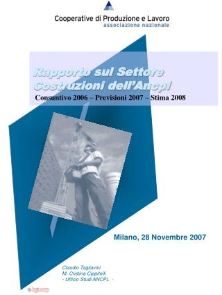 Milano, 28 Novembre 2007