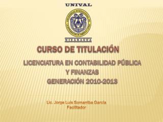 CURSO DE TITULACIÓN