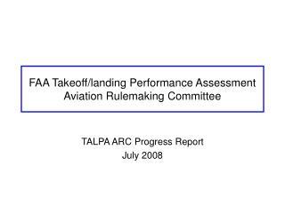 FAA Takeoff