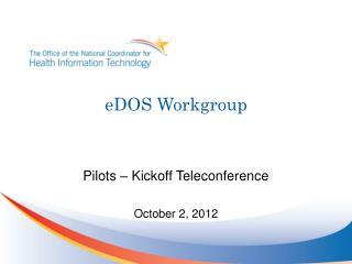 eDOS Workgroup