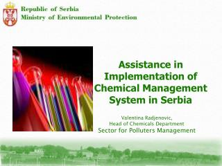 Assistance in Implementation of Chemical Management System in Serbia