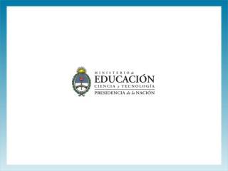 """Programa Nacional """"Educación en Establecimientos Penitenciarios y de Minoridad"""""""