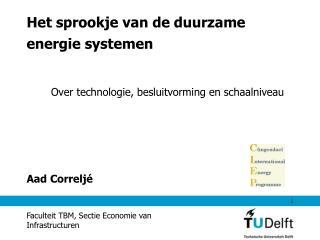 Het sprookje van de duurzame energie systemen