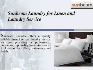 Sunbeam Laundry for Linen and Laundry Service