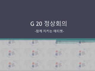 G 20  정상회의