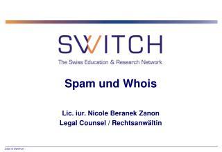 Spam und Whois