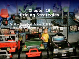 Chapter 26 Pricing Strategies