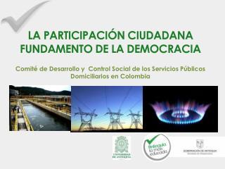 LA PARTICIPACIÓN CIUDADANA FUNDAMENTO DE LA DEMOCRACIA