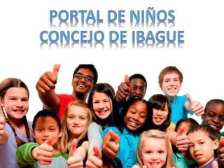 PORTAL DE NI�OS CONCEJO DE IBAGUE