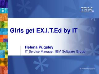 Girls get EX.I.T.Ed by IT