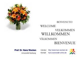 Prof .  Dr .  Hans Wocken