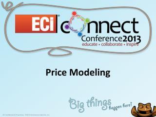 Price Modeling