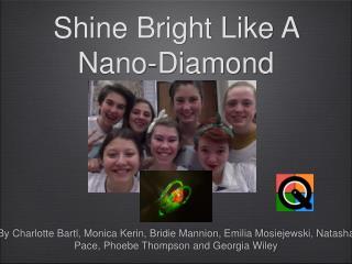 Shine Bright Like A Nano-Diamond