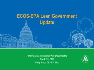 ECOS-EPA Lean Government Update