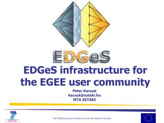 EDGeS infrastructure for the EGEE user community