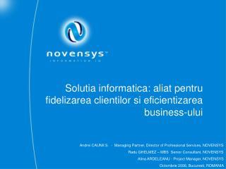 Solutia informatica: aliat pentru fidelizarea clientilor si eficientizarea business-ului