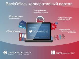 Корпоративный портал BackOffice