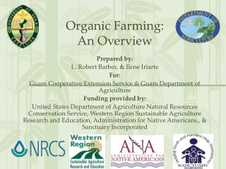 Organic Farming:  An Overview