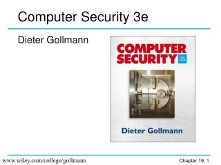 Computer Security 3e