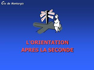 L'ORIENTATION  APRES LA SECONDE