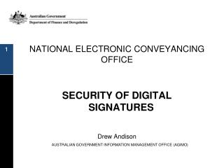 NATIONAL ELECTRONIC CONVEYANCING OFFICE