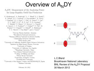 Overview of A N DY